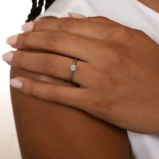 Tiffany & Co. .30 Carat Diamond Solitaire Ring  - F VS1