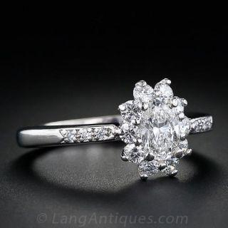Tiffany & Co. .60 Carat Oval Diamond Ring