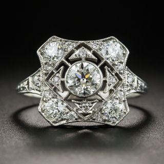 Art Deco Tiffany & Co. Diamond Ring - 1