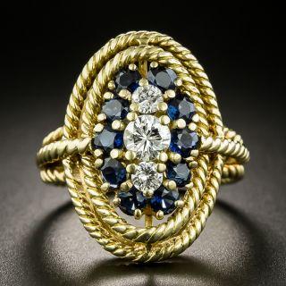 Tiffany & Co. Diamond and Sapphire Ring - 2
