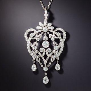 Tiffany & Co. Diamond Lavalier Pendant/Brooch, c. 1915 - 1