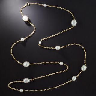 Tiffany & Co. Elsa Peretti Pearls-by-the-Yard Necklace - 1