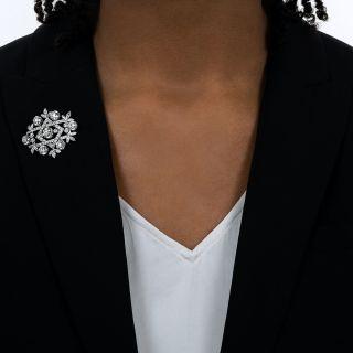 Tiffany & Co. Platinum Diamond Brooch - Circa 1915