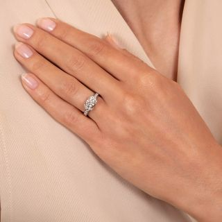 Tiffany & Co. Ribbon Collection .61 Carat Diamond Engagement Ring