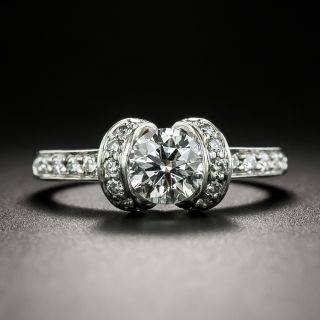 Tiffany & Co. .61 Carat Ribbon Collection Engagement Ring - 2