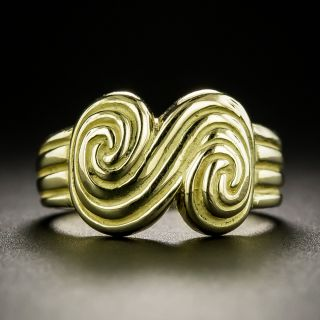 Tiffany & Co. Scroll Collection Ring - 3