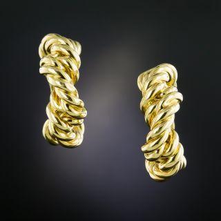 Tiffany & Co. Twisted Hoop Earrings