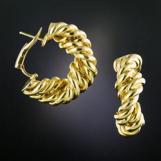 Tiffany & Co. Twisted Hoop Earrings - 3