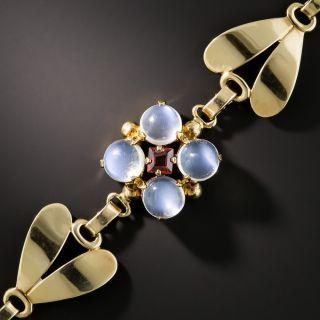 Tiffany & Co. Vintage Moonstone Bracelet - 1