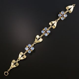 Tiffany & Co. Vintage Moonstone Bracelet