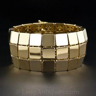 Tiffany & Co. Wide Gold Bracelet - 1