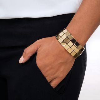 Tiffany & Co. Wide Gold Bracelet