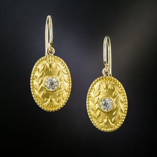 Turn of the Century Tiffany & Co Diamond Earrings - 3