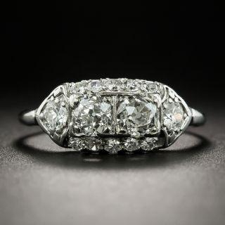 Two-Stone Petite Diamond Ring - 1