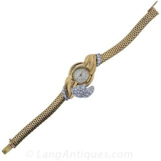 Unusual Diamond Covered Watch