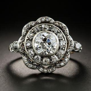 Victorian 1.30 Carat Center Diamond Ring - 2
