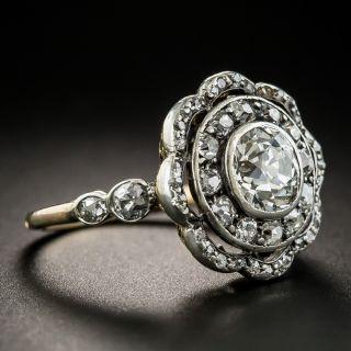 Victorian 1.30 Carat Center Diamond Ring