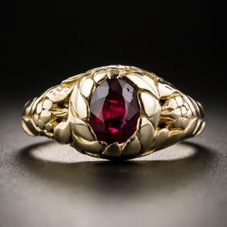 Vintage Ruby Ring - 1