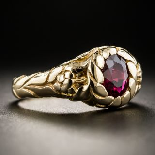 Victorian 14K Ruby Ring