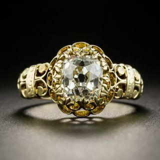 Victorian 2.00 Carat Diamond Engagement Ring - GIA - 2