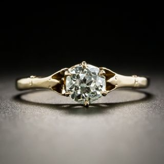 Victorian .50 Carat Solitaire Diamond Ring by M. B. Bryant and Co. - 2