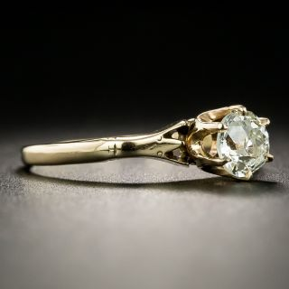 Victorian .50 Carat Solitaire Diamond Ring by M. B. Bryant and Co.