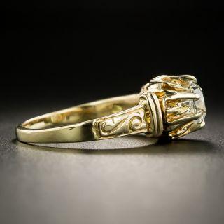 Victorian .75 Carat Diamond Solitaire Engagement Ring