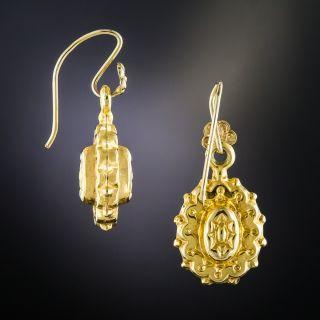 Victorian 9K Drop Earrings
