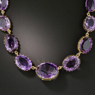 Victorian Amethyst Riviere Necklace - 2