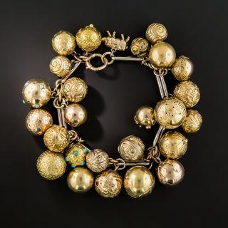 Victorian Ball Charm Bracelet - 2