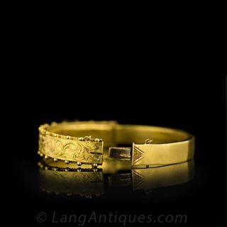 Victorian Bangle Bracelet