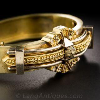 Victorian Bangle Bracelet - 1