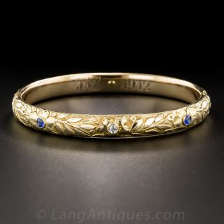 Victorian Bangle with Diamond