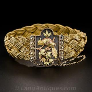Victorian Braided Mesh Bracelet