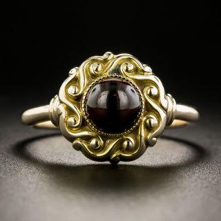 Victorian Cabochon Garnet Ring - 2