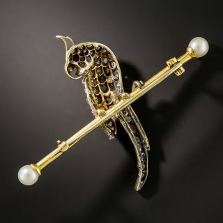 Victorian Cockatiel Pin