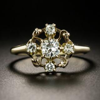Victorian Cushion-Cut Diamond Ring - 2