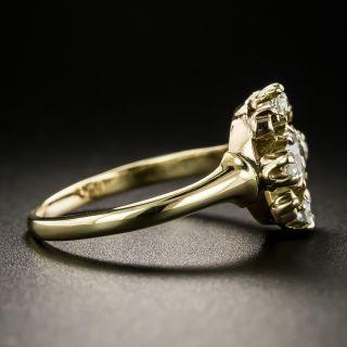 Victorian Cushion-Cut Diamond Ring