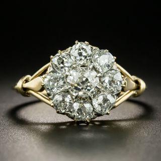 Victorian Diamond Cluster Ring - 2