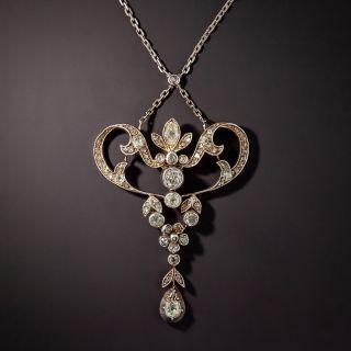 Victorian Diamond Lavalière Necklace - 1