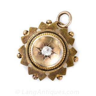 Victorian Diamond Pendant