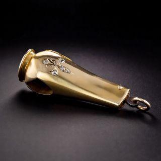 Victorian Diamond-Set Cigarillo Cutter