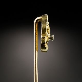 Victorian Diamond Stick Pin - French