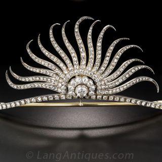 Victorian Diamond Tiara - 2