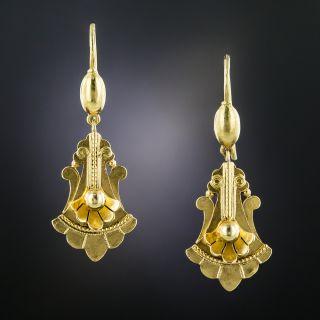 Victorian Doorknocker Drop Earrings - 2