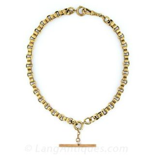 Victorian Double  Watch Chain