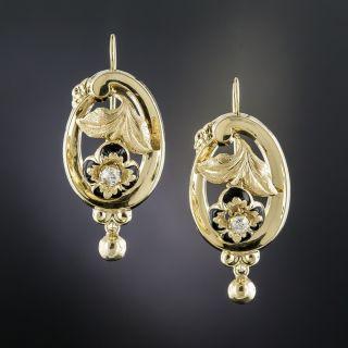 Victorian Drop Earrings  - 1
