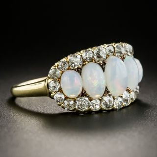 Victorian/Edwardian Opal and Diamond Ring