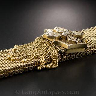 Victorian Enamel Fringe Slide Bracelet