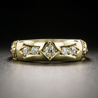 Victorian Five-Stone Diamond Band Ring c.1893 - 2